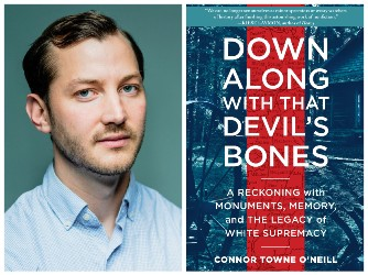 Connor Towne O'Neill and book cover
