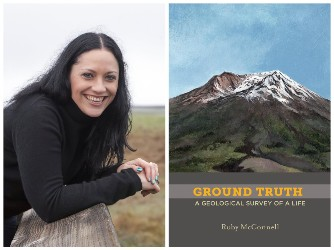Ruby McConnell and book cover image