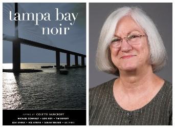 Collette Bancroft and book cover