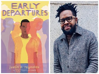 Justin A Reynolds and book cover