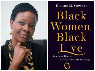 Dianne Stewart and book cover