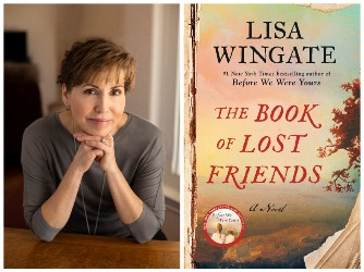 Lisa Wingate and book cover