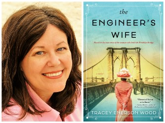 Tracey Wood and book cover